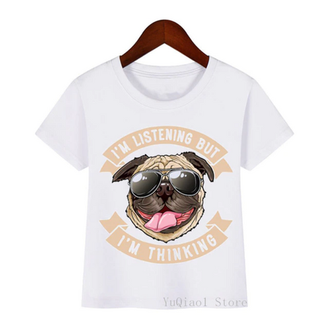 Cool Pug with Shades T-Shirt