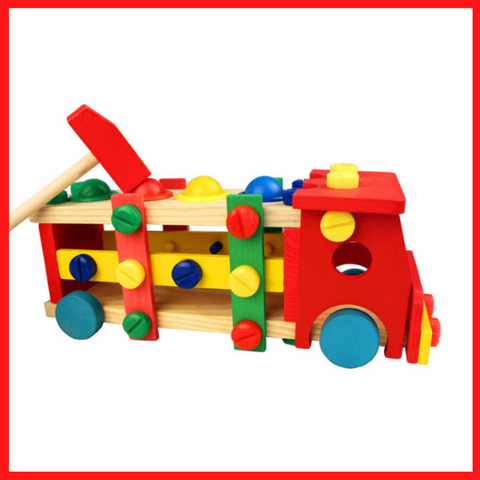 Wooden Car Assembly Toy