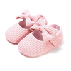 Snap-On Cotton Ribbon Shoes