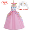 Unicorn Party Dress With Coat