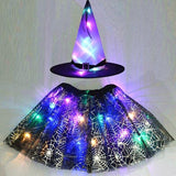 LED Lights Witch Costume