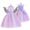 Unicorn Princess Party Dress Set