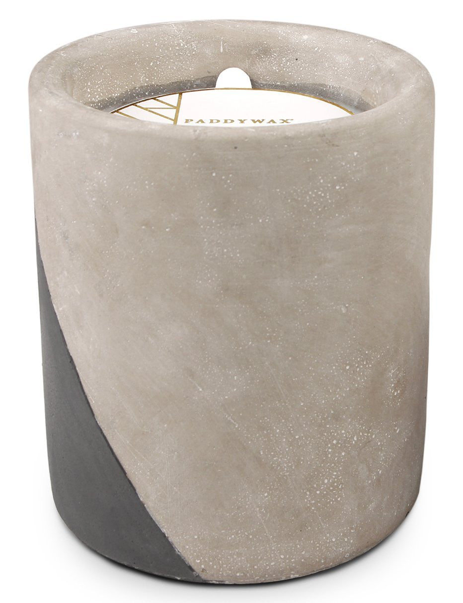 Candle, Urban Concrete - Fig & Olive - VINTAGE JOURNEY MARKET - Upcycling & Restoration