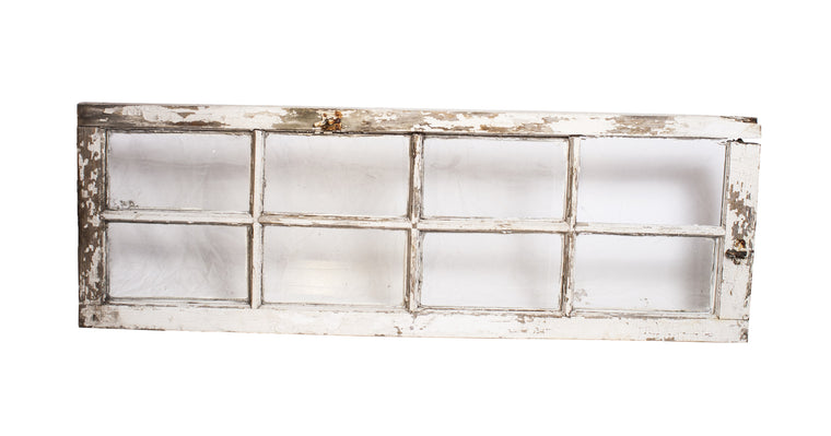 8 pane Window Frame - VINTAGE JOURNEY MARKET - Upcycling & Restoration