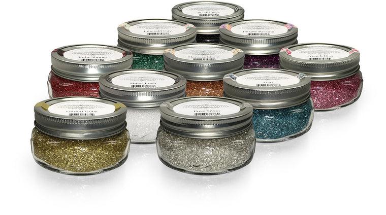 Couture German Glass Glitter (8 oz) - VINTAGE JOURNEY MARKET - Upcycling & Restoration