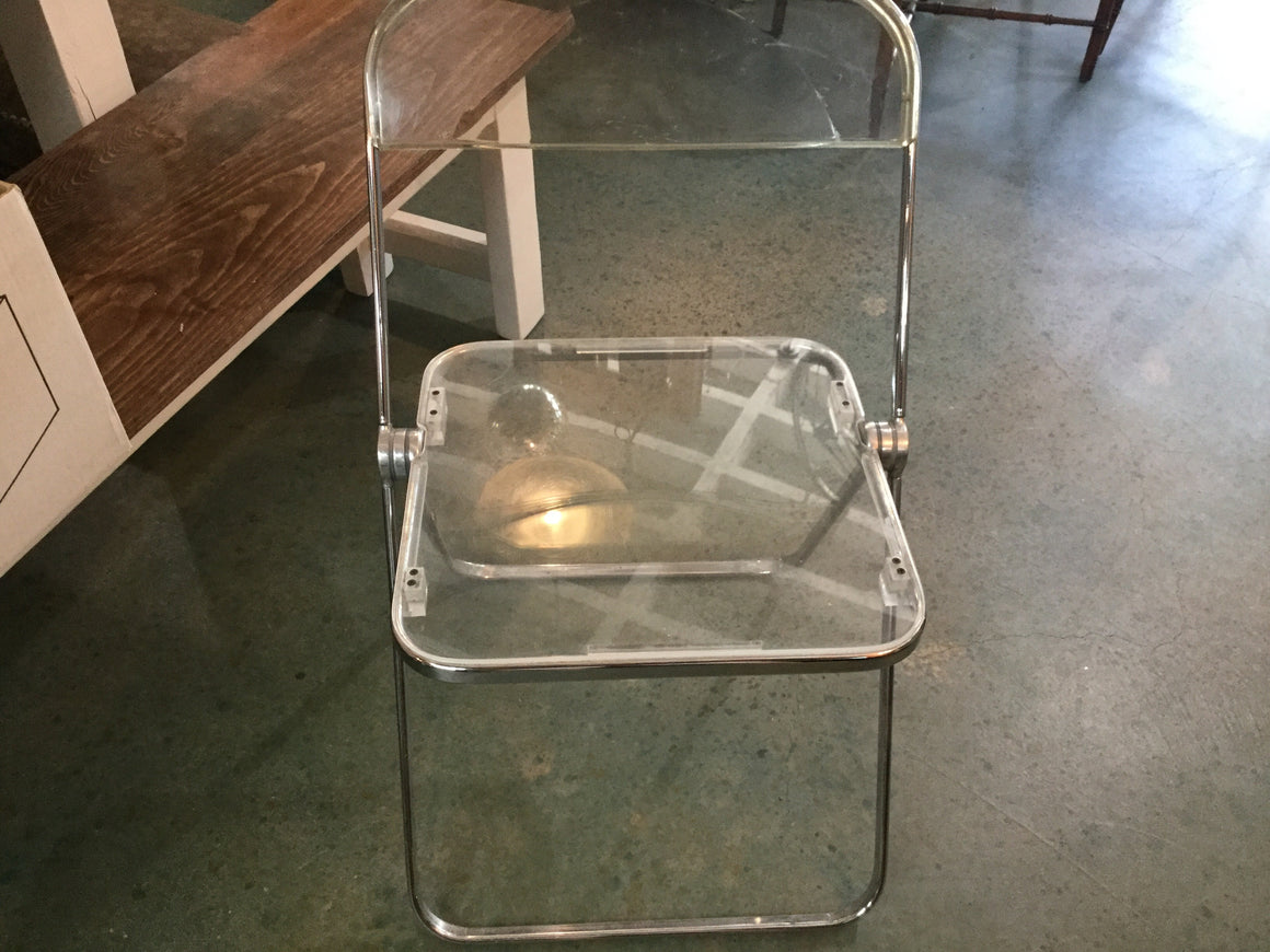 Acrylic chair - VINTAGE JOURNEY MARKET - Upcycling & Restoration
