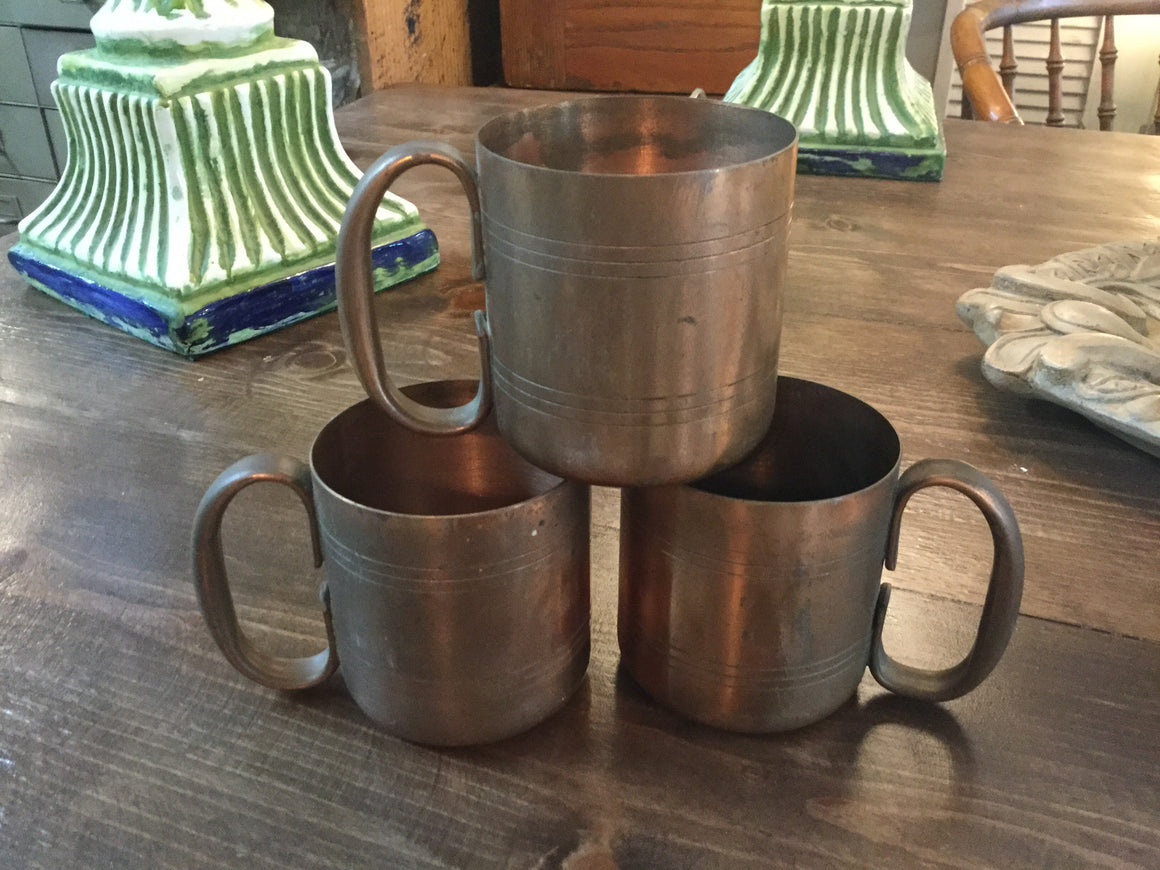 Copper mugs - VINTAGE JOURNEY MARKET - Upcycling & Restoration