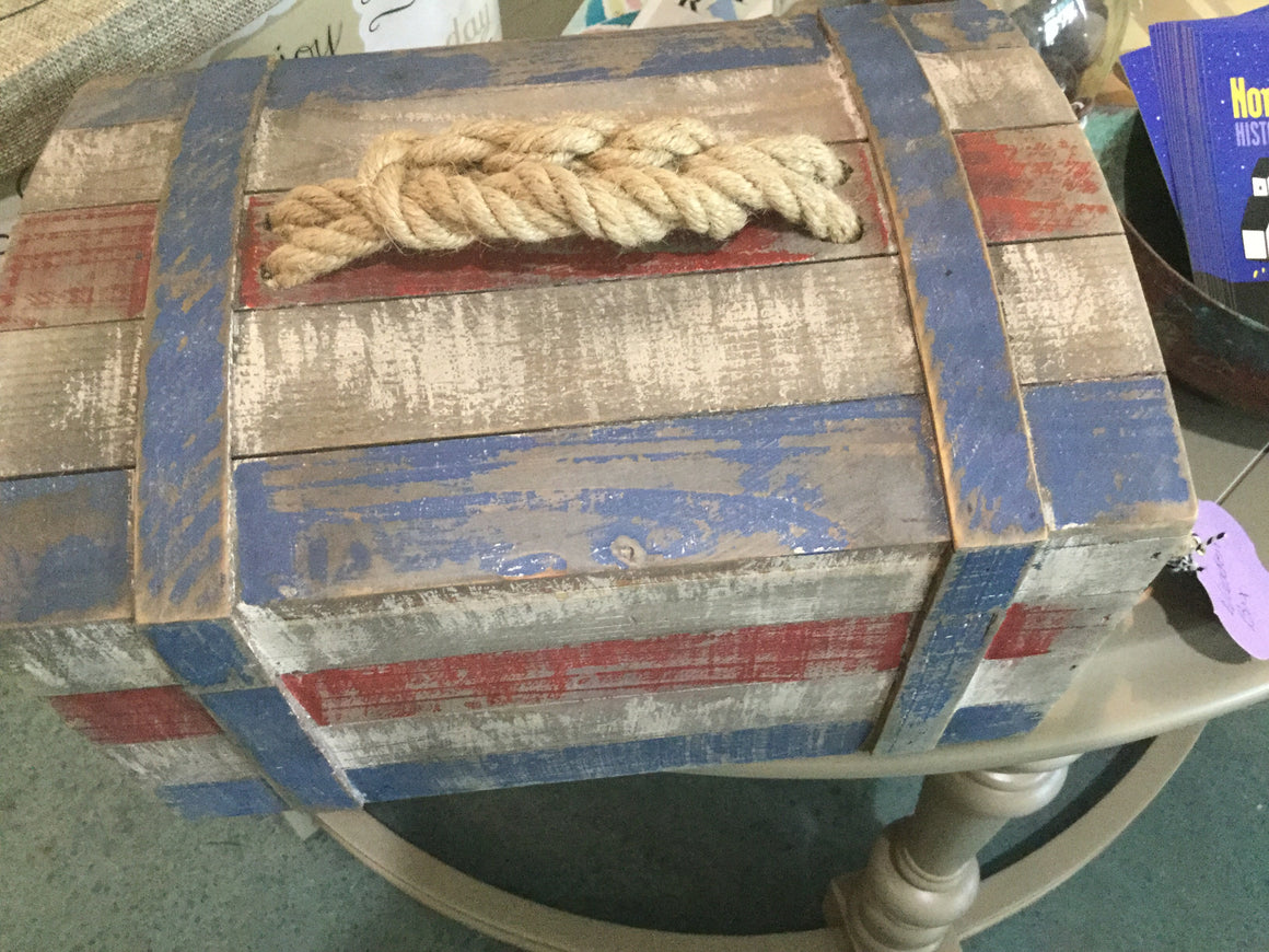 Box nautical - VINTAGE JOURNEY MARKET - Upcycling & Restoration