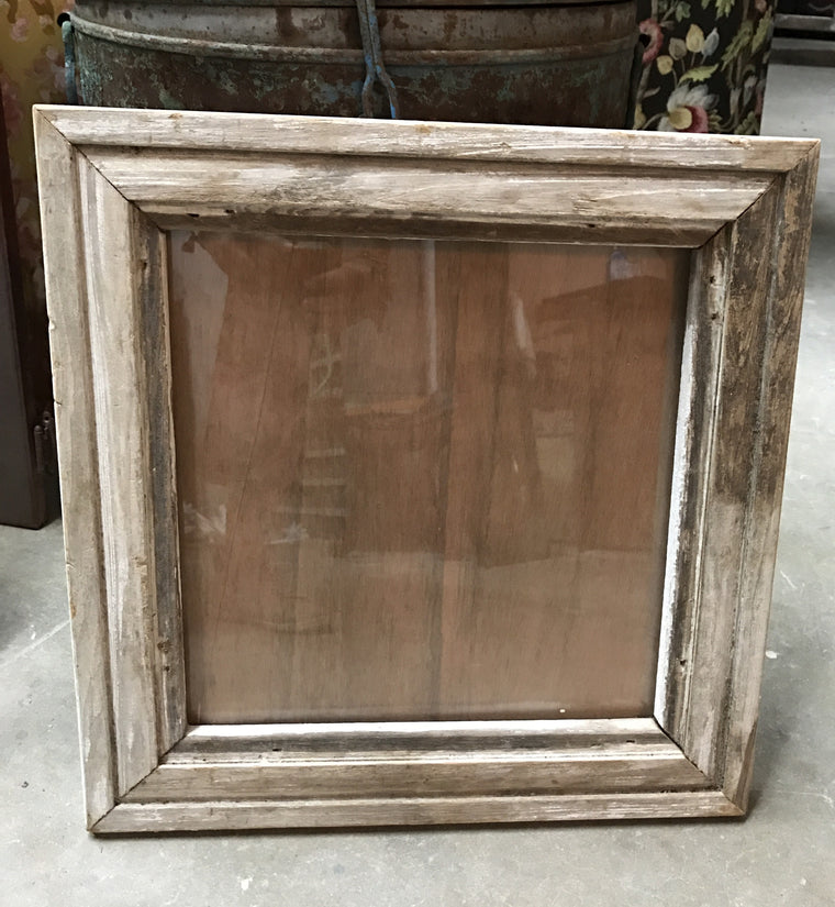 Barnwood Frame with Glass - VINTAGE JOURNEY MARKET - Upcycling & Restoration