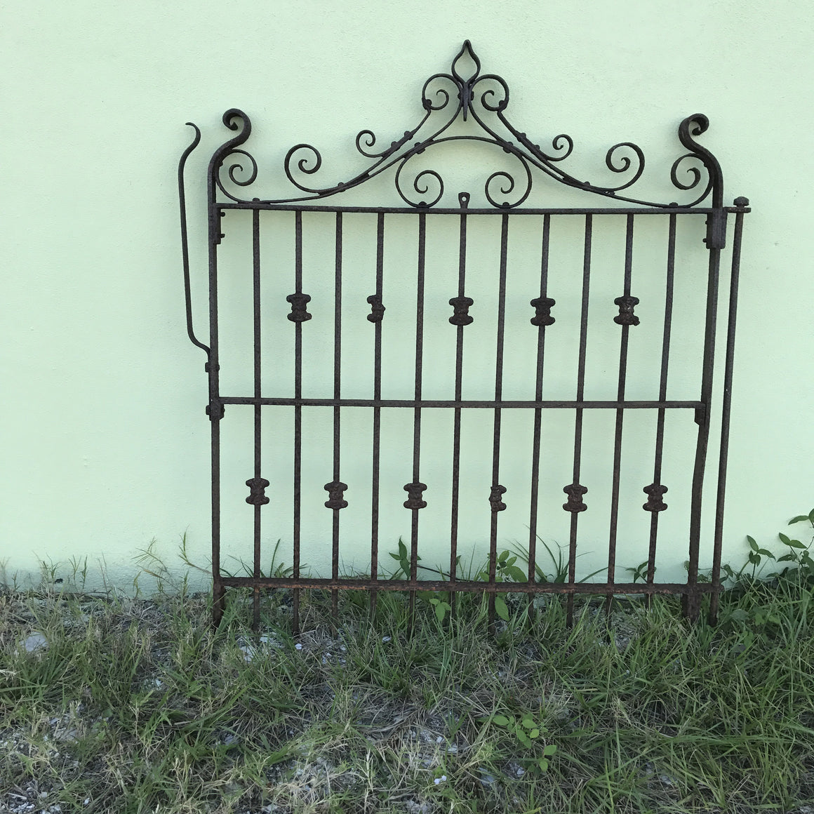 Antique Ornamental  Wrought Iron Gate - VINTAGE JOURNEY MARKET - Upcycling & Restoration