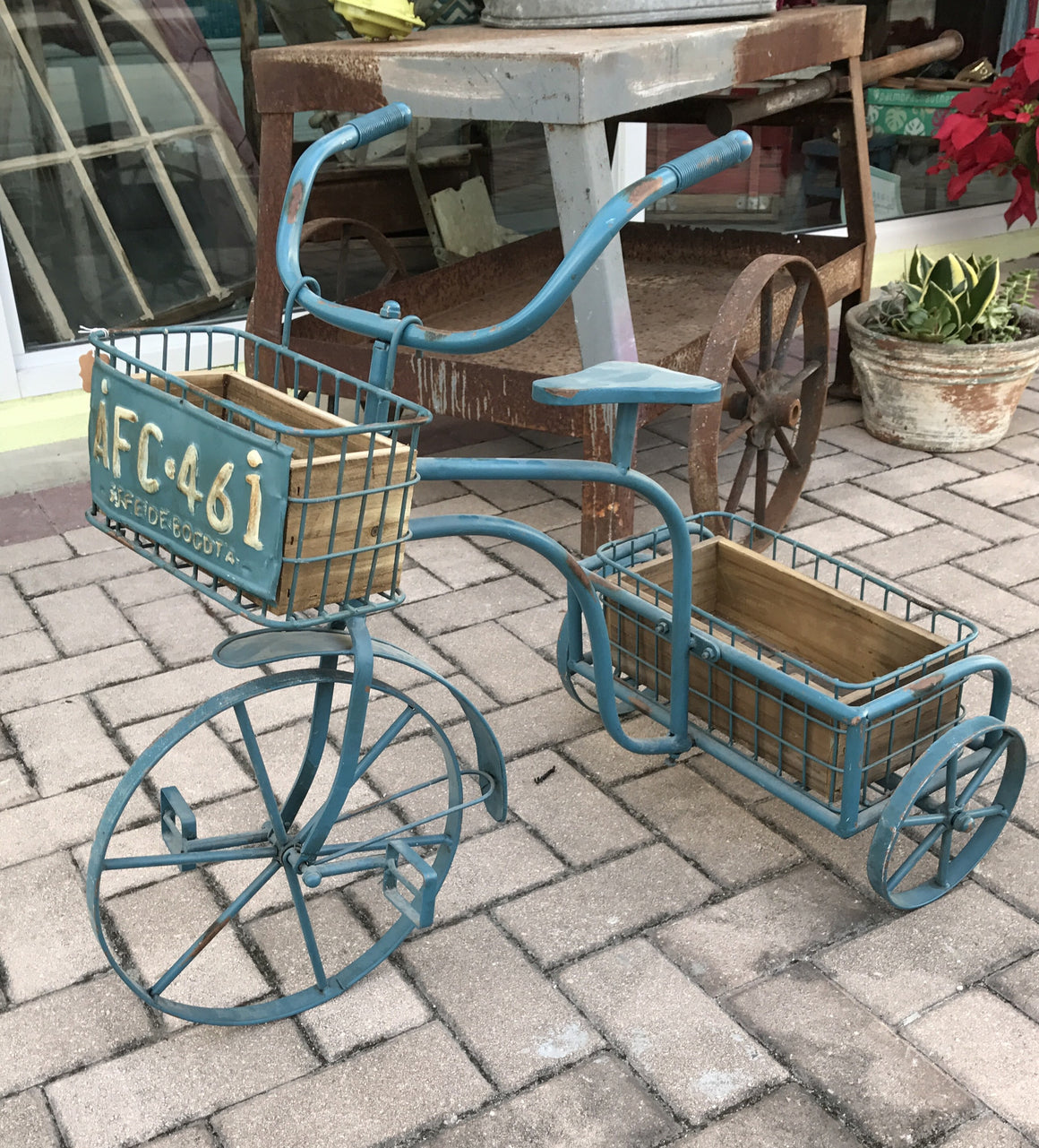 Vintage Look Tricycle - VINTAGE JOURNEY MARKET - Upcycling & Restoration