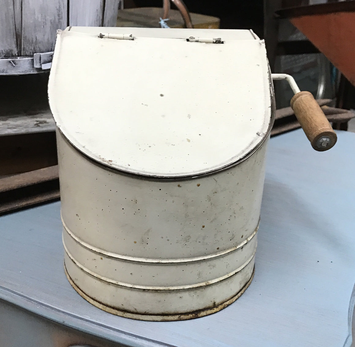 Garden Seed Storage Container - VINTAGE JOURNEY MARKET - Upcycling & Restoration