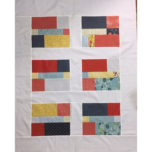 Layer Cake left overs - Free Quilt Pattern