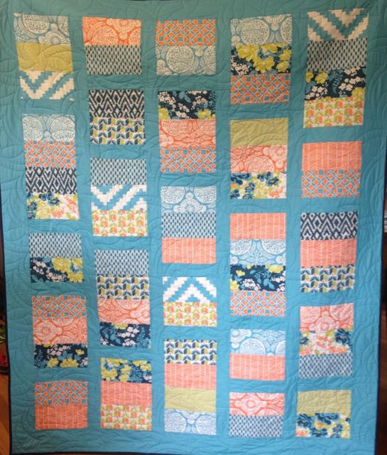 Free Patchwork Pattern - Layer Cake Quilt #2