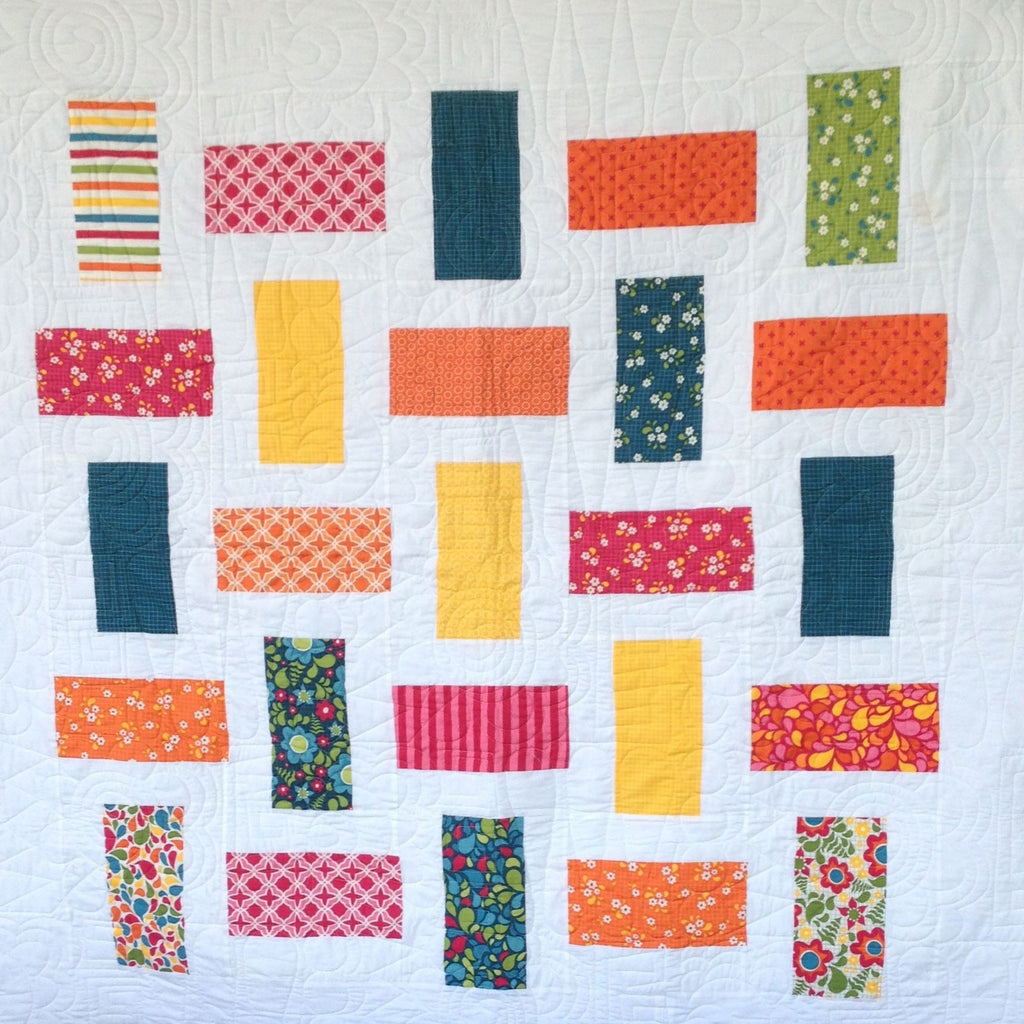 Free Patchwork Pattern - Layer Cake Quilt #1