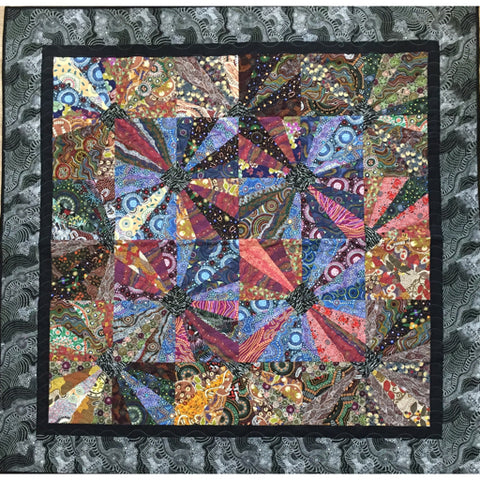Star Burst - Free Quilt Pattern