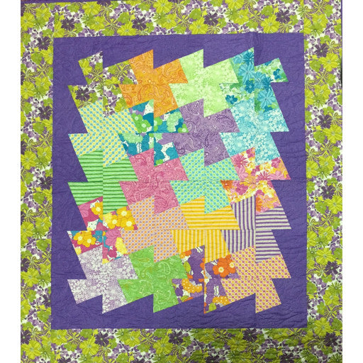 Free Patchwork Pattern - Layer Cake Quilt #3