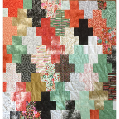 Layer Cake Plus Quilt - Layer Cake Pattern #4