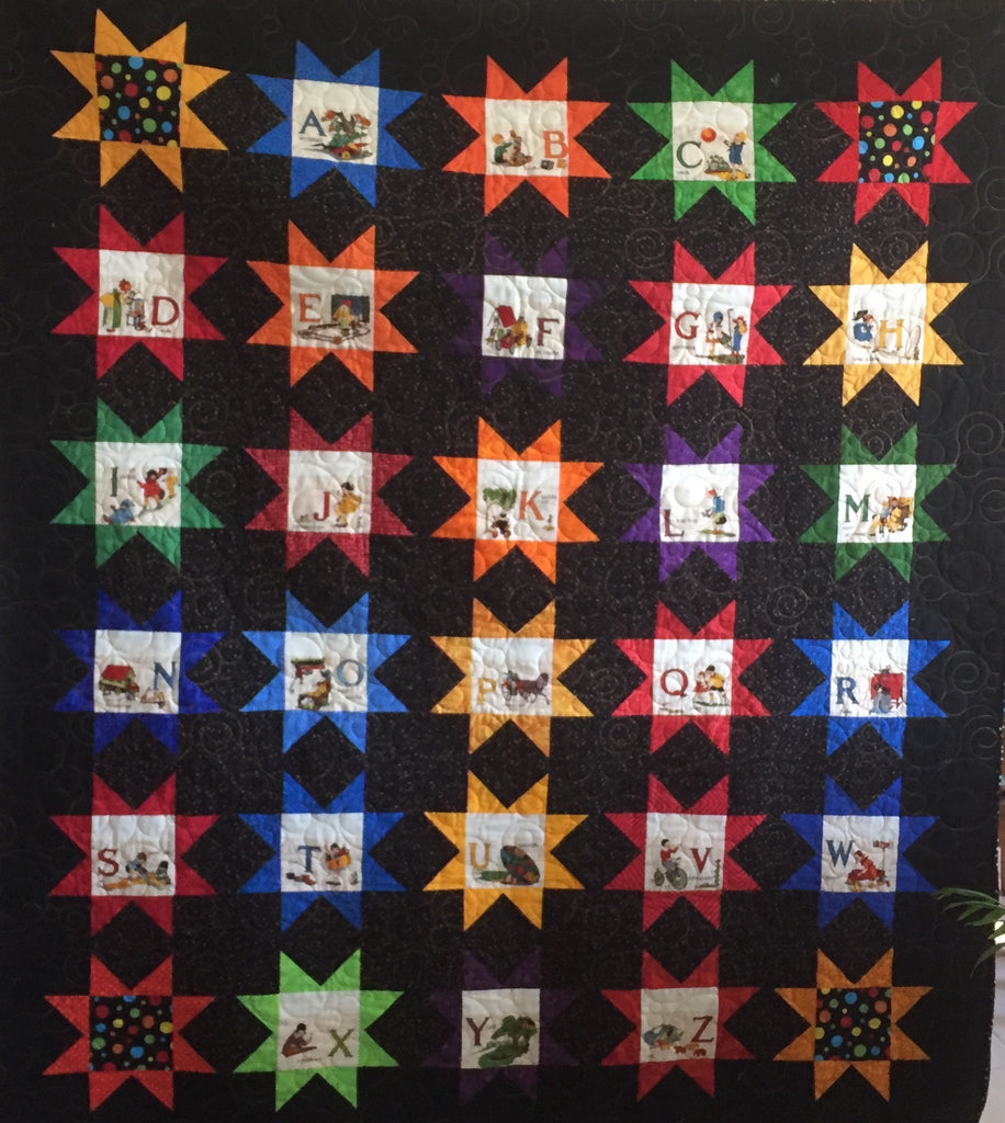 Free Patchwork Pattern - Nifty Stars