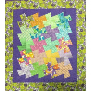 Quilten Met Layer Cakes Jelly Rolls En Charm Packs.Free Patchwork Pattern Layer Cake Quilt 3