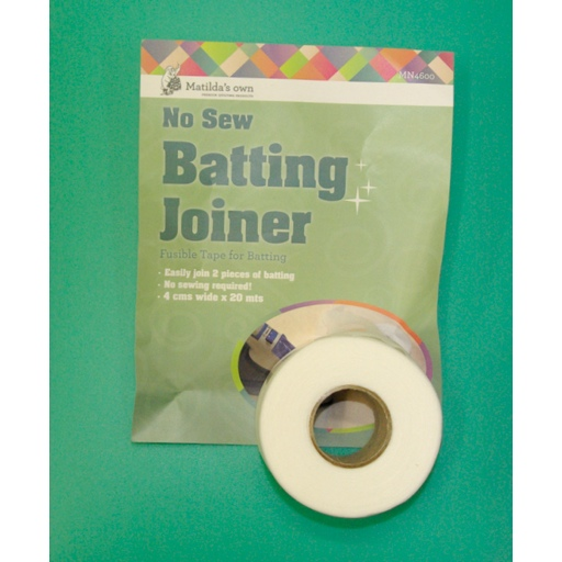 No Sew batting joiner - fusible web -  per roll - 4cm wide x 20m