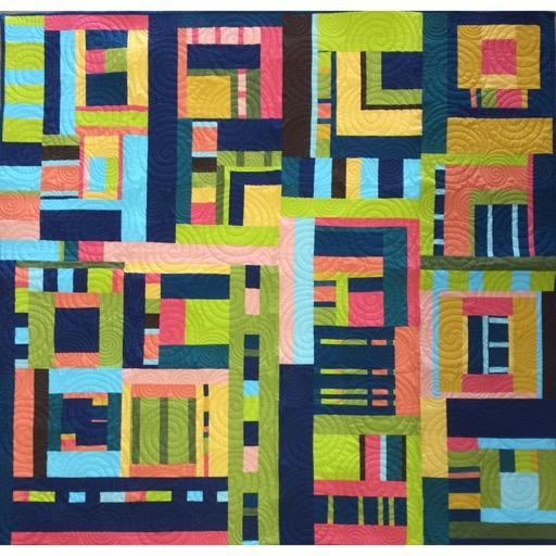 "RP Improv Quilt Pattern Booklet - 20+pages - 60"" square"