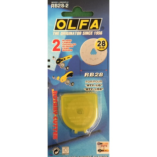 Rotary Cutter Olfa 28mm spare blade