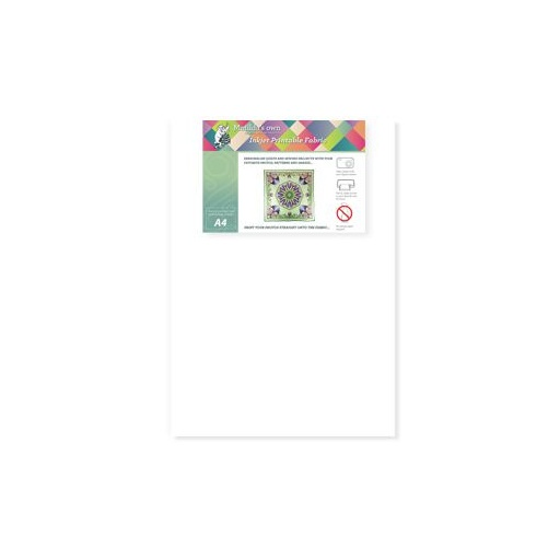 Inkjet Printable Fabric - 5 sheets per pack - A4 sheets