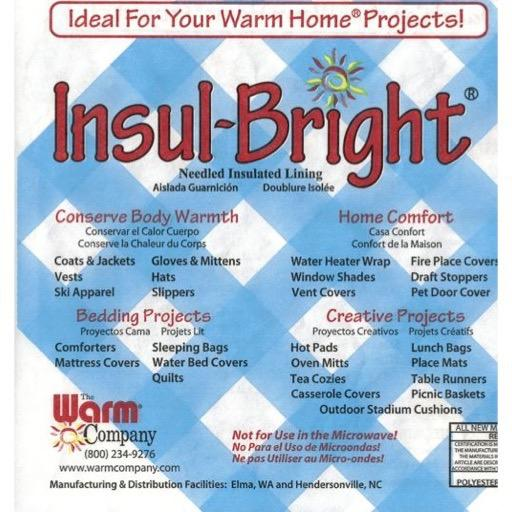 Wadding InsulBright 55cm - per metre length