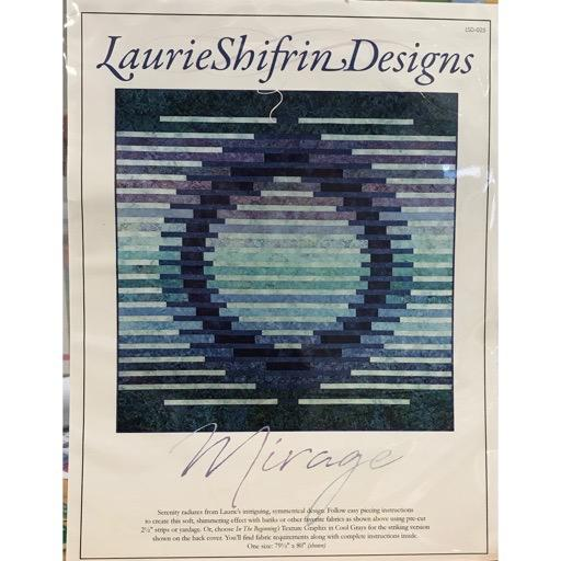 "Laurie Shifrin Designs - Mirage Quilt - 80"" square"