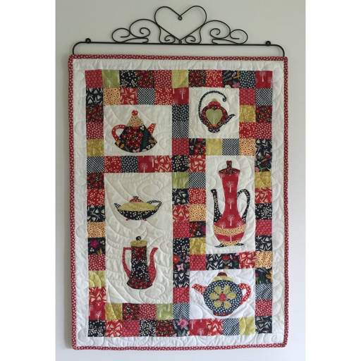 "RPTeapot Wallhanging Pattern - 38"" x 36"""