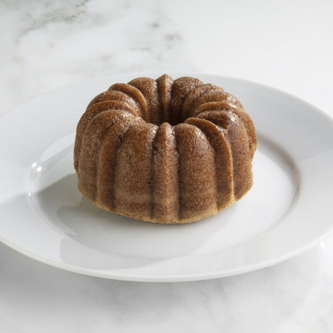 Cookie Butter Protein Bundt Cake
