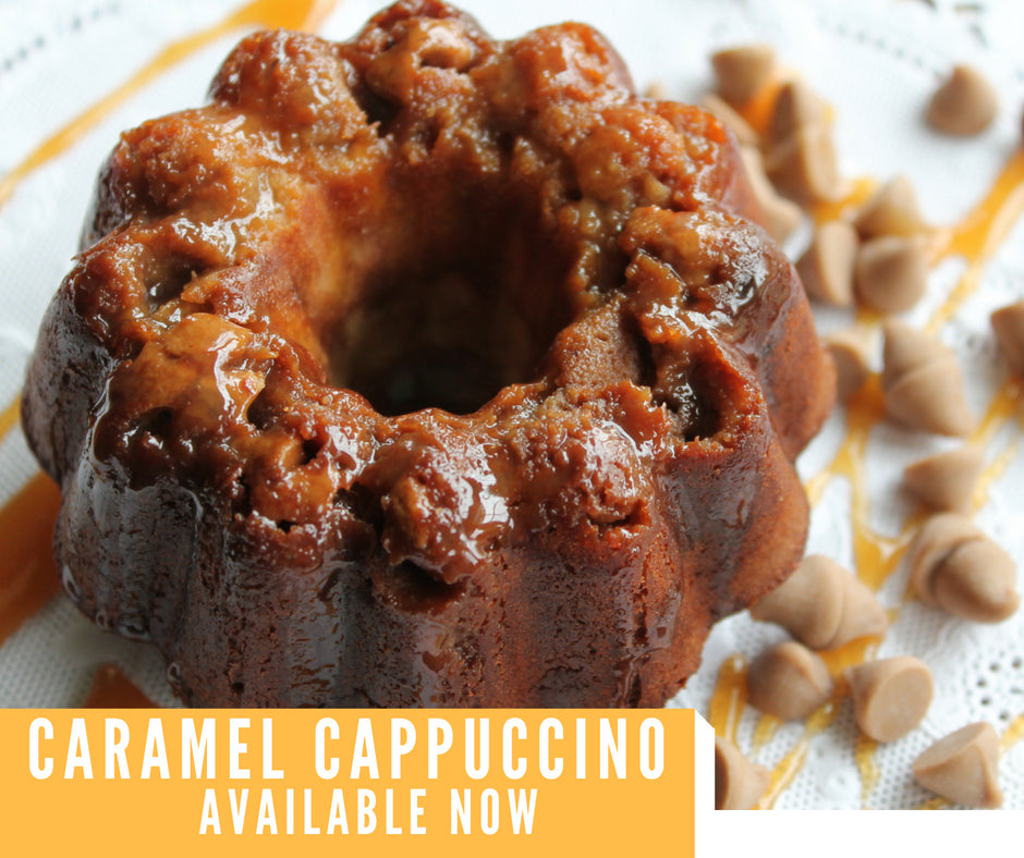 Pumpkin Protein Bundt Cake in season now
