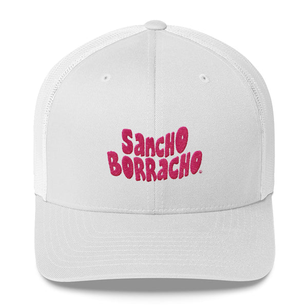 "Sancho in the ""PINK"" Trucker Cap"