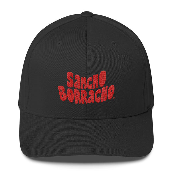 "Sancho Borracho ""BRANDED"" Structured Twill Cap"