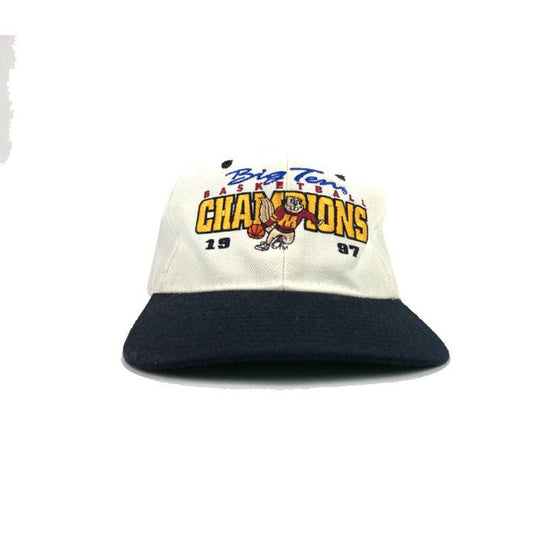 VINTAGE 1997 Minnesota Gophers Big Ten Basketball Champions Snapback