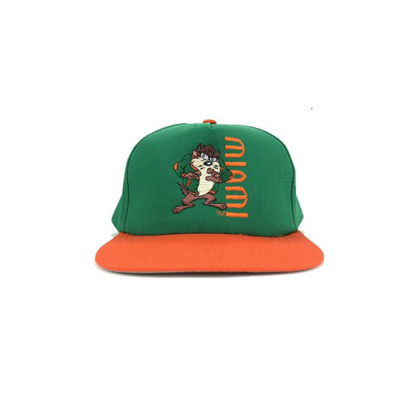 VINTAGE 90's NCAA Miami Hurricanes Hat YOUTH