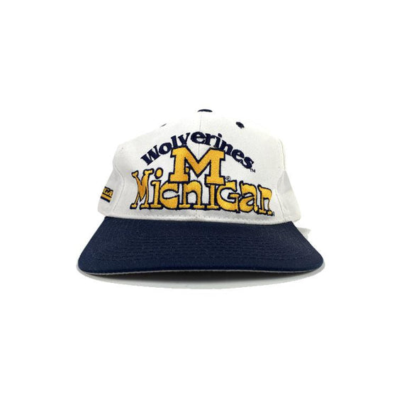 VINTAGE 90's MICHIGAN WOLVERINES Hat