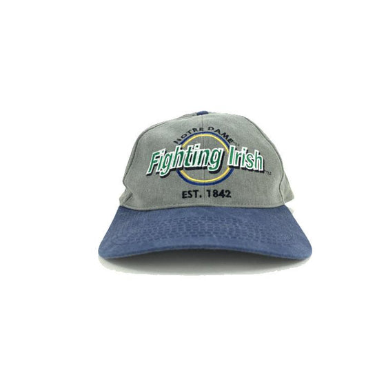 VINTAGE NOTRE DAME Fighting Irish Hat Snapback