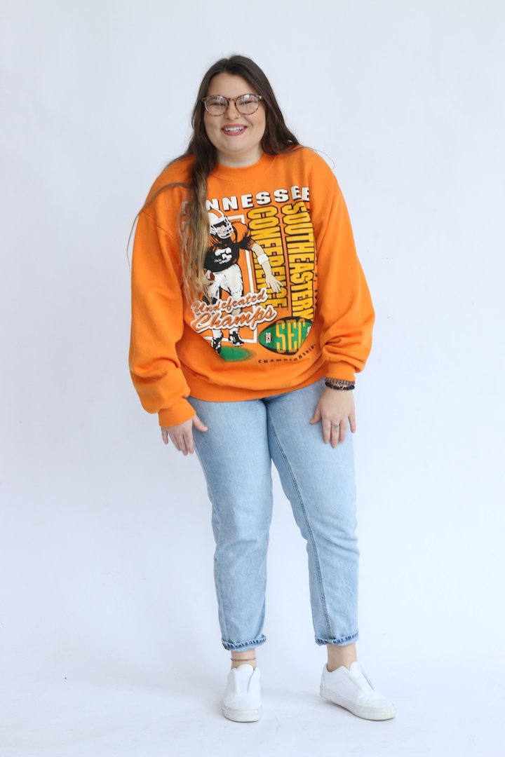Vintage Tennessee Block Graphic Crewneck