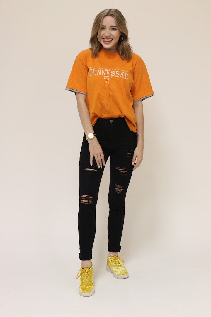Tennessee Color Trim Tee