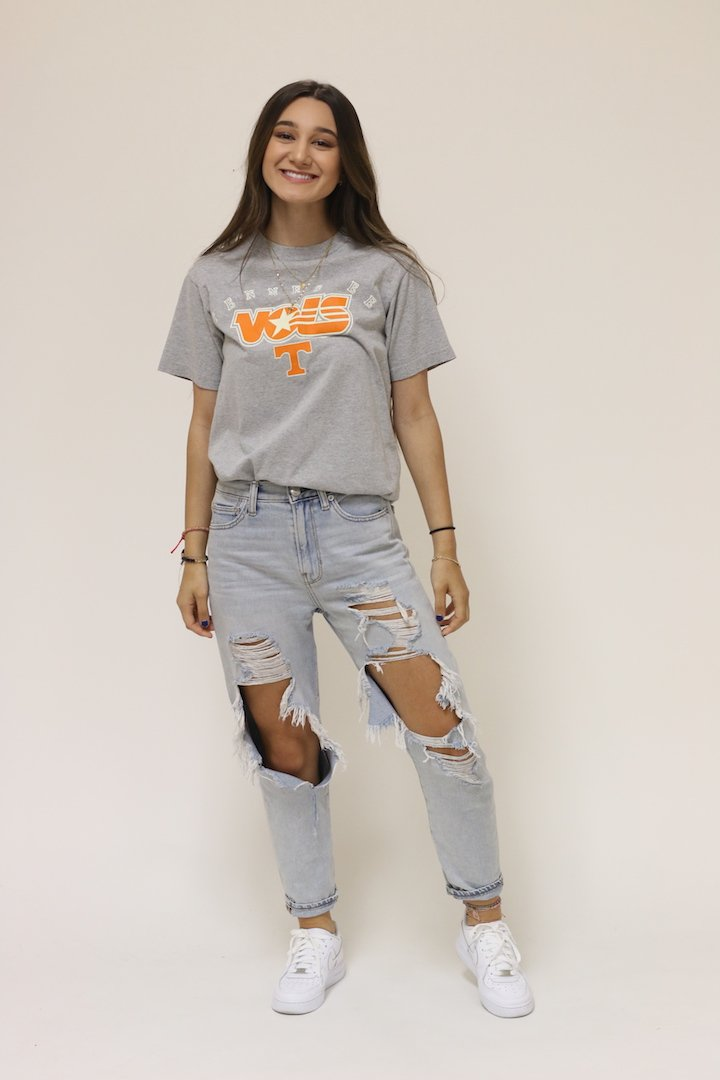 Tennessee Classic Grey Tee