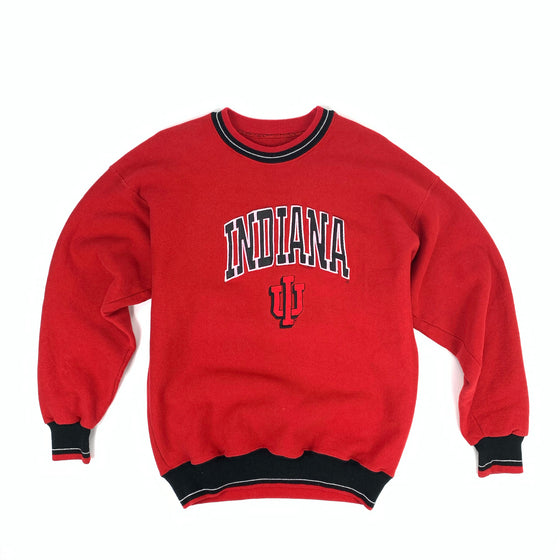 Vintage Indiana Color Cuff Crewneck