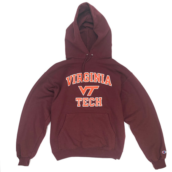Vintage Virginia Tech Champion Hoodie
