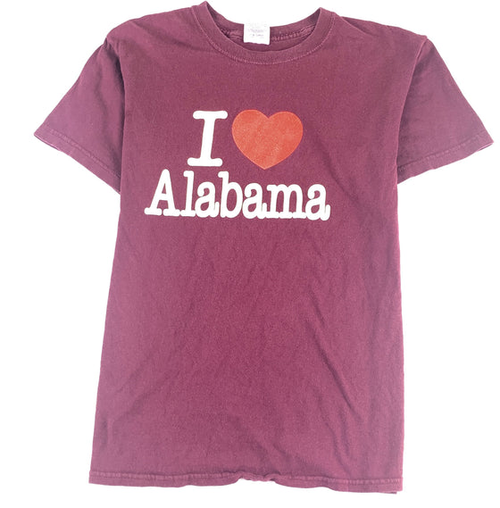 "Vintage ""I Heart Alabama"" Tee (small)"