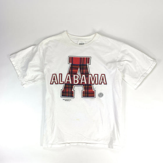 Vintage Alabama Plaid Graphic Tee