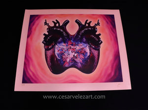 Dopamine Canvas Print - Limited Edition (Signed/Numbered 1-10)