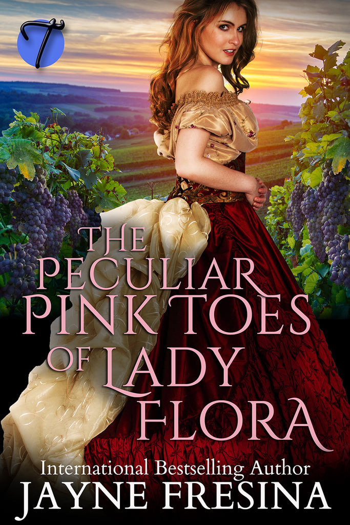 The Peculiar Pink Toes of Lady Flora by Jayne Fresina