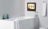 Soulaca 15.6 inches Frameless Waterproof and Dustproof TV for Bathroom Use