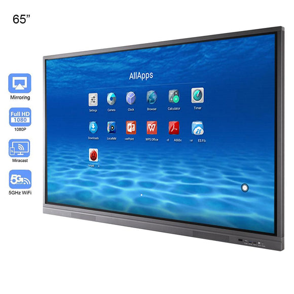65 inches Education Electronic White Board 10 Points Touch Screen
